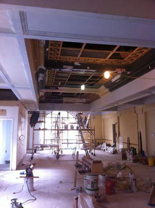 Plaster Ceiling April