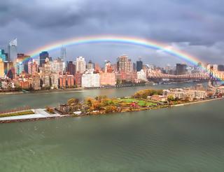 Rainbow-manhattan